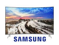 Samsung 三星到【三星 SAMSUNG】65吋4K曲面液晶電視 UA65MU8000WXZW贈基本安裝