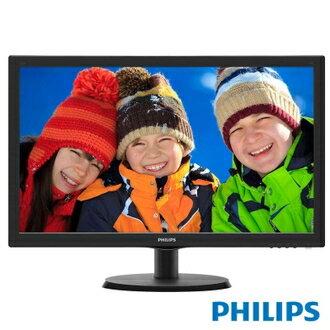 PHILIPS 飛利浦 223V5QSB6 22型LED寬螢幕顯示器