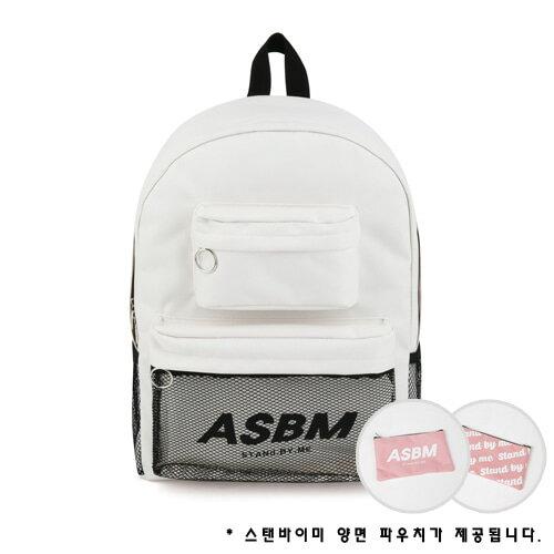 【獨家商品】韓國潮牌 STANd.BY.ME 152 多袋口後背包 書包 電腦包 4