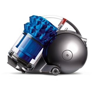 Dyson 圓筒式吸塵器 Ball fluffy CY24 (藍色)【床墊+迷你軟毛+無纏結】