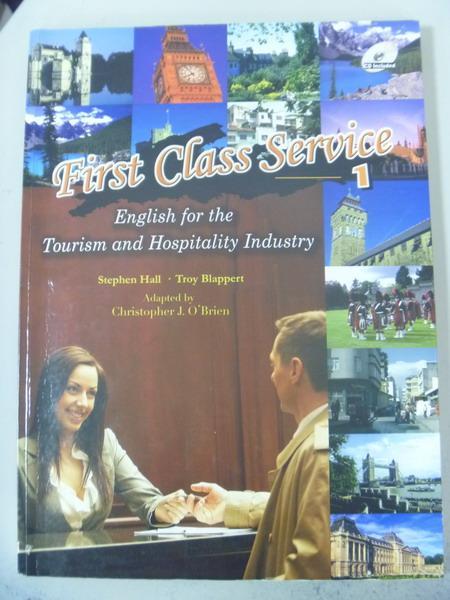 【書寶二手書T3/語言學習_ZDI】First Class Service (1)_附2光碟