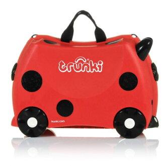 英國 Trunki 兒童行李箱-可乘坐 瓢蟲