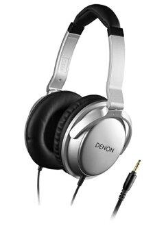 日本 DENON AH-D510 (銀色) 耳罩式耳機,附收納袋,公司貨,附保卡,保固一年