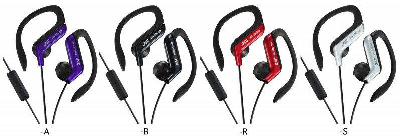JVC 智慧型手機專用,HA-EBR80 運動型耳掛式耳機附通話麥克風,公司貨