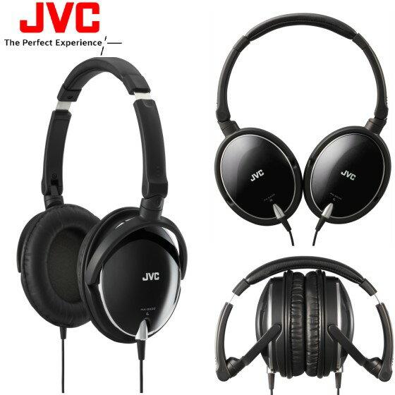 (特價福利品) JVC HA-S600 黑色  摺疊全罩式立體聲耳機,原價1590