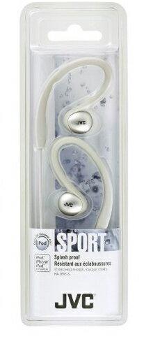 JVC HA-EBX5 白色 防水運動型耳掛式立體聲耳機,,公司貨保固