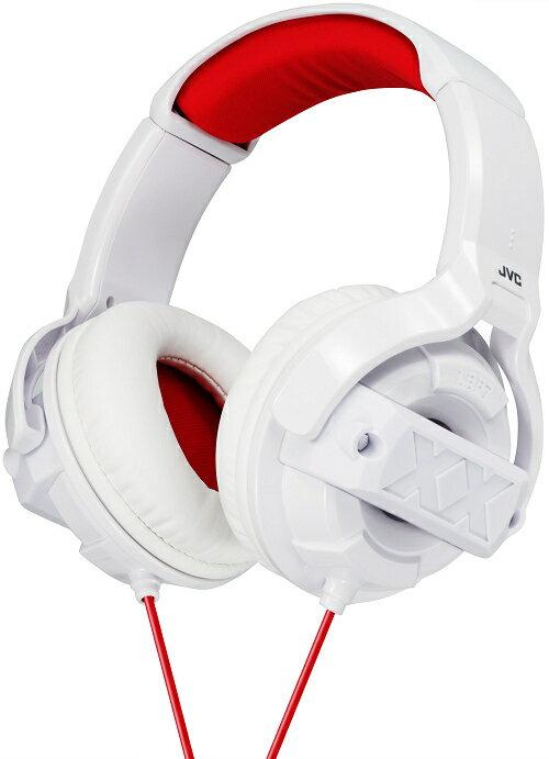 日本 JVC HA-M55X 白色 (附收納袋) XX低音系列 頭戴式立體聲耳罩式耳機 公司貨,保固一年
