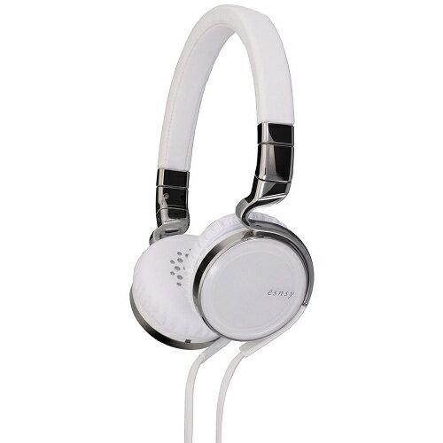 日本 JVC HA-SR75S (白色) esnsy 系列時尚風格高音質頭戴耳罩式耳機(線控附麥克風),公司貨附保卡,保固一年