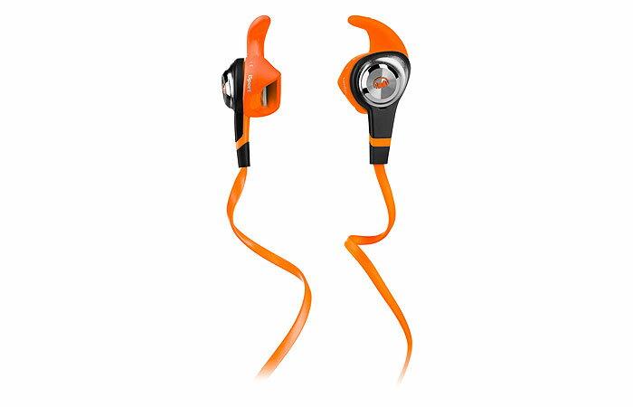 美國 MONSTER iSport Strive (橘色) 高性能運動型入門耳機,逢緯公司貨,一年保固