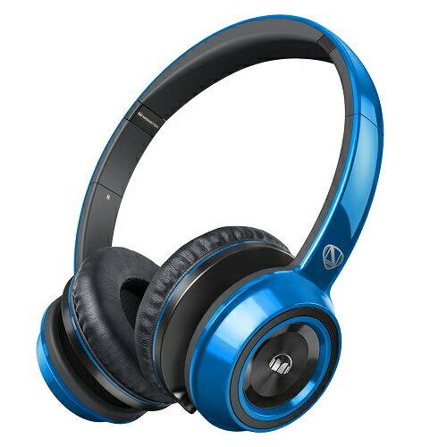 美國 Monster N-TUNE V2 with ControlTalk (藍色)耳罩式線控耳機,公司貨,保固一年