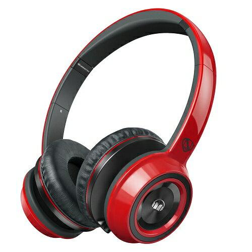 美國 Monster N-TUNE V2 with ControlTalk (紅色)耳罩式線控耳機,公司貨,保固一年