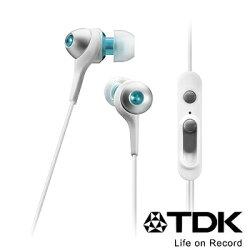 TDK CLEF-Urban Smart TH-ECAS351 (白色) 二代智慧型手機專用耳道式耳機