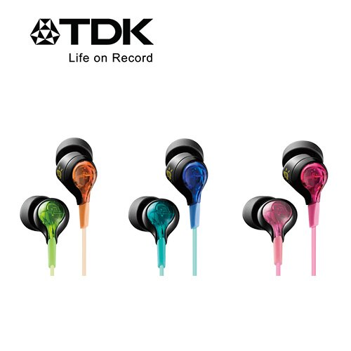 TDK CLEF-BEAM TH-BEC200 炫麗發光科技感耳機
