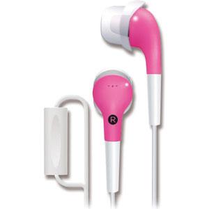 日本 TDK CLEF-Fit2 TH-ECAS180 (粉紅色) Smart Phone 專用耳道式繽紛耳機,公司貨