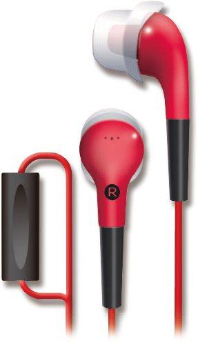 TDK CLEF-Fit2 TH-ECAS180 (紅色) Smart Phone 專用耳道式繽紛耳機,公司貨,附保卡,保固一年