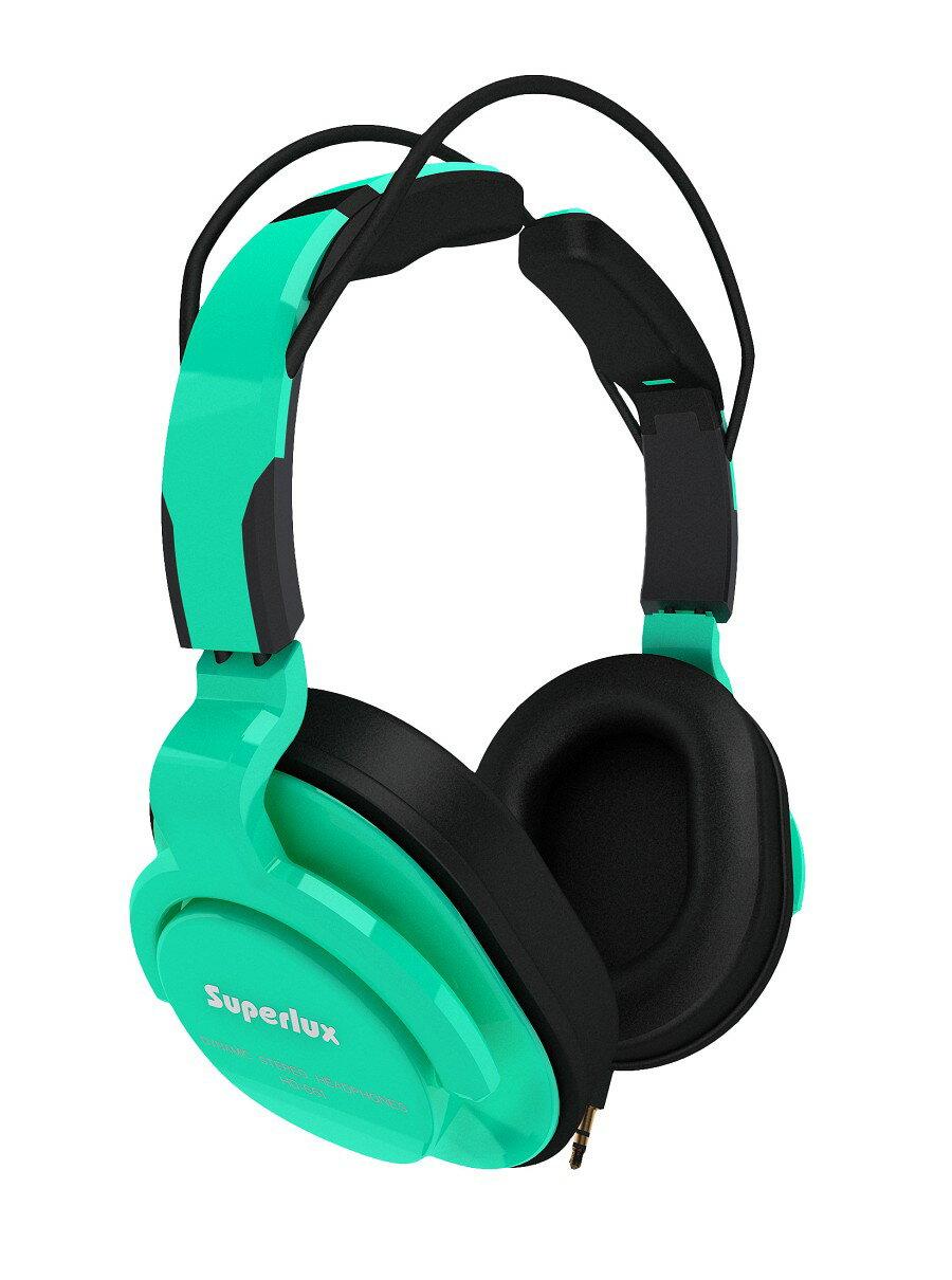 <br/><br/>  Superlux 舒伯樂 HD661 (綠色).新款全罩式專業監聽級耳機,原廠代理商公司貨,附保卡,保固一年<br/><br/>