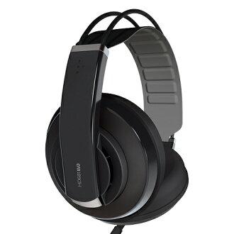 舒伯樂 Superlux 新款 HD681 EVO (黑色) 專業監聽級全罩式耳機,(附絨毛耳罩) ,公司貨,附保卡,保固一年