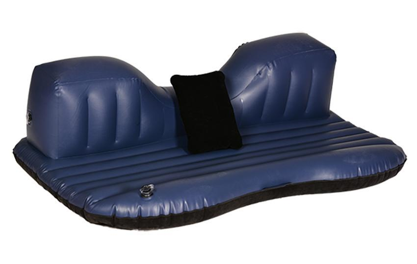 Black Car Inflatable Mattress Airbed Rest Pillow With Pump 3