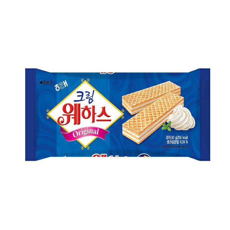 HAITAI 海太奶油威化餅-50g (有效期限:2018.01.19)