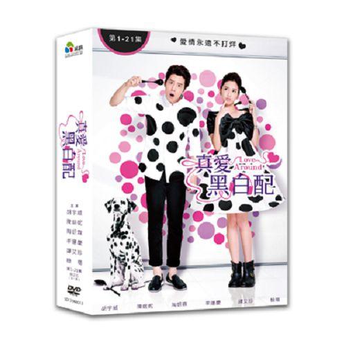 真愛黑白配DVD (全21集/7片裝) 胡宇威/陳庭妮