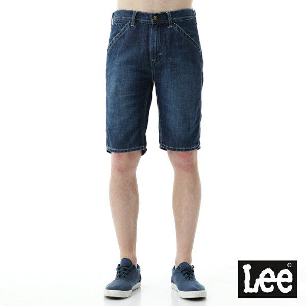 【精選短褲↘6折】Lee牛仔短褲RG-男款★全店滿$2000折$200