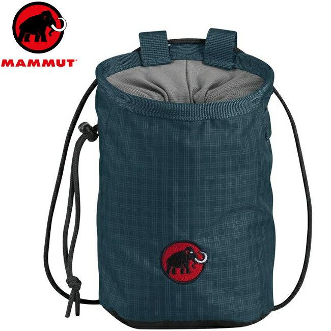 Mammut 長毛象 Basic Chalk Bag 攀岩粉袋 2290-00372 5851 黯寒青