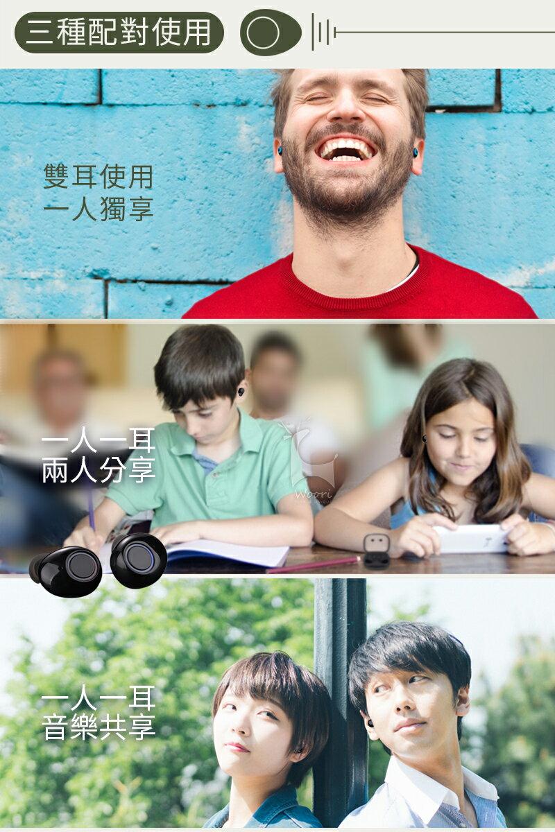【公司貨】K11 防汗防水 5.0無線藍牙耳機 方盒運動藍芽耳機 聽音樂LINE通話 語音控制 雙耳獨立使用 磁吸充電盒 6