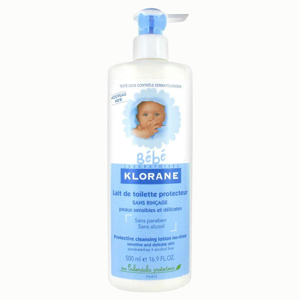 Klorane 蔻蘿蘭 寶寶保濕清潔身體乳500ml【巴黎好購】乳液 嬰兒 沐浴乳 兒童