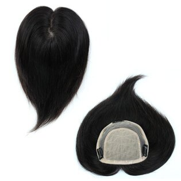 雙兒網:內網約17X15公分髮長約30公分100%真髮微增髮輕量補髮塊女仕【RT37】☆雙兒網☆