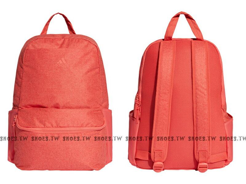 Shoestw【CF5148】ADIDAS W CLA ID 後背包 運動後背包 筆電夾層 橘紅色
