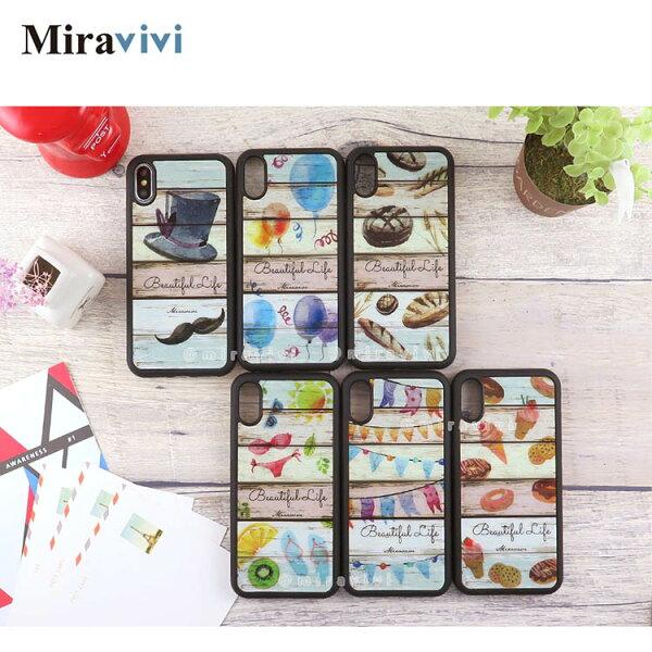 Miravivi生活日常防手滑手機殼套_iPhoneX