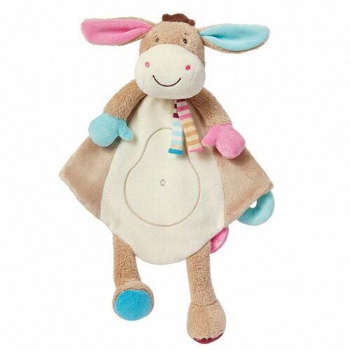 babyFEHN 芬恩 - 叢林夥伴小驢安撫布偶奶嘴巾 0