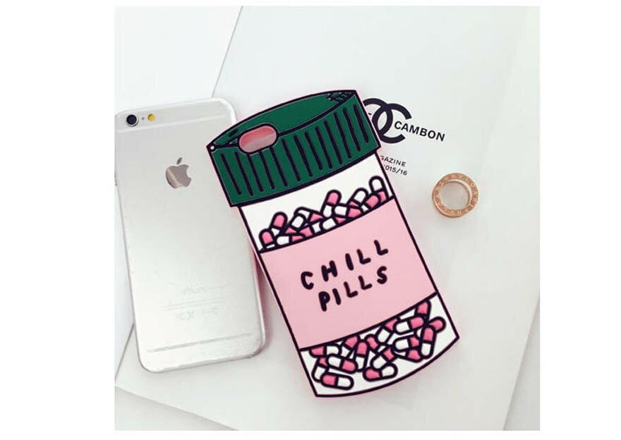 【限時下殺】藥罐子/愛心款手機殼矽膠美味軟殼/iPhone 6/Plus i6/保護後蓋/手機殼 8