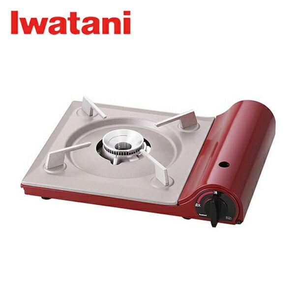 卡式爐 / 岩谷 / 瓦斯爐 / 酒紅色TAS-1  / 日本岩谷Iwatani超薄卡式爐 酒紅色TAS-1 - 限時優惠好康折扣