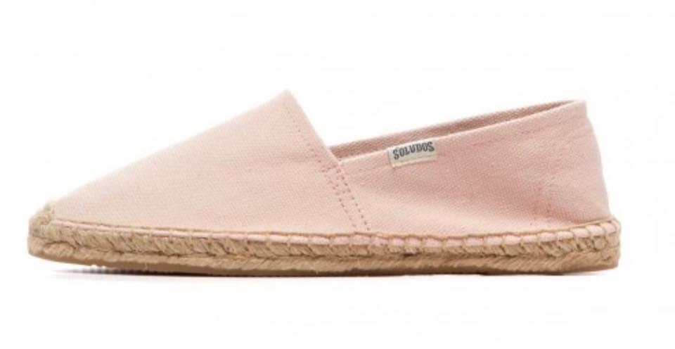 【Soludos】美國經典草編鞋-基本款草編鞋-粉 2