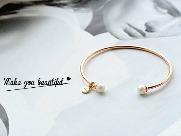 韓劇 沒關係是愛情啊 同款珍珠手環 手鍊 批發 超商取貨 貨到付款【櫻桃飾品】【23868】