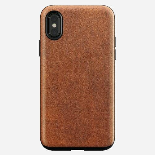 【貝殼】NOMAD iPhone X / iX RUGGED CASE 真皮背蓋 經典皮革 背蓋