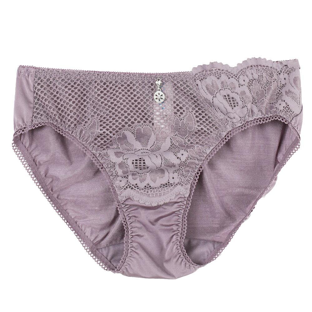 【Favori】魔力 玫情芬芳三角褲 (芋香紫) 0