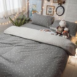韓星100%復古純棉 單/雙/加大/kingsize床包/寢具/兩用被組合賣場 台灣製 棉床本舖