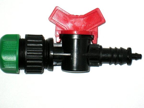 四分水管轉6mm開關接頭(球閥)