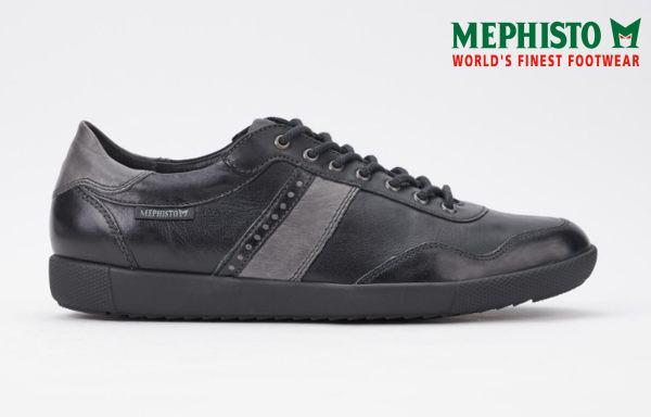 Mephisto 法國工藝皮革休閒鞋 黑 1