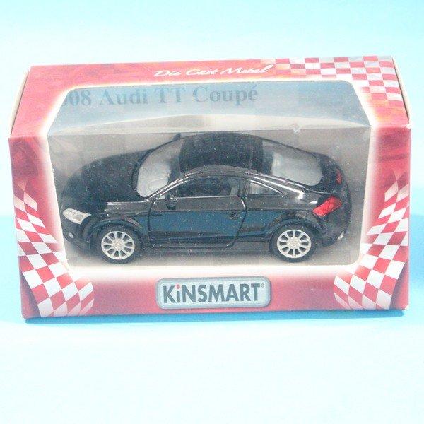 奧迪2008 Audi TT Coupe合金車 1:36模型車 KT5335 迴力車 玩具