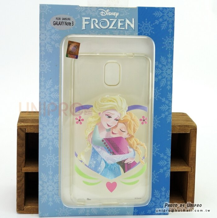 【UNIPRO】Samsung Note3 迪士尼 冰雪奇緣 FROZEN 艾莎 安娜 姊妹情深 TPU 手機殼 保護套 N900