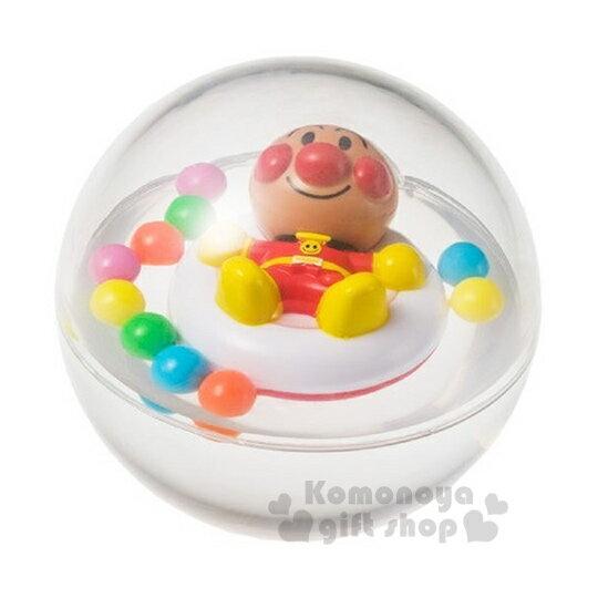 〔小禮堂〕麵包超人 洗澡球玩具《透明.躺泳圈.繽紛球》適合10個月以上孩童