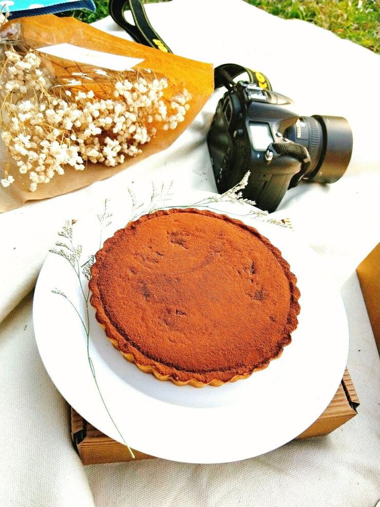 巧克力塔 蛋糕  濃情蜜意 尺寸:6吋