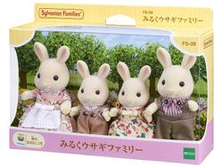 【崑山玩具x日韓精品】EPOCH 森林家族-牛奶兔家族