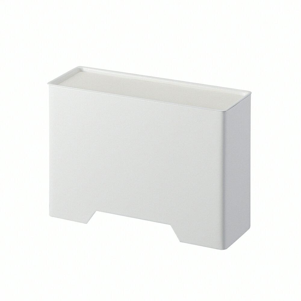 日本【YAMAZAKI】tower磁吸式口罩收納盒(白)★飾品架 / 收納架 / 收納盒 / 急救箱 1
