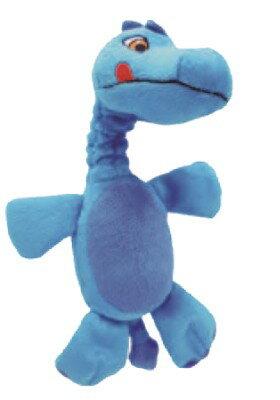 MIGHTY PAWS 耐咬玩具剛果恐龍~可放置寶特瓶填充至玩具肚中增加趣味性