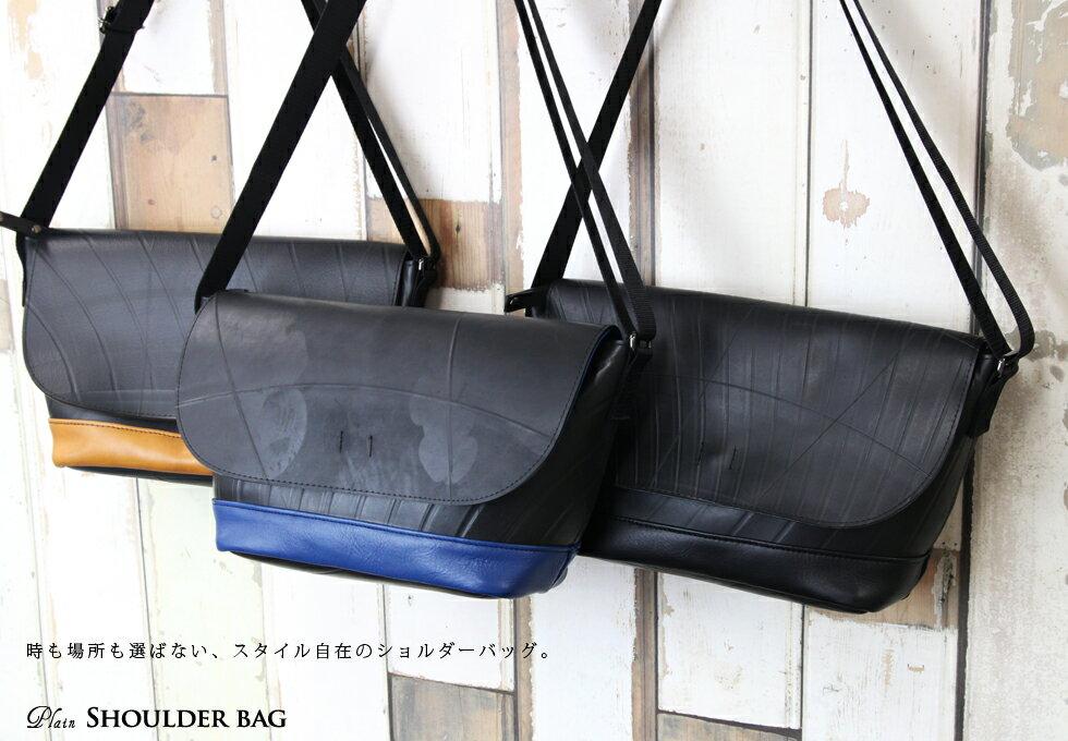 [日本SEAL手工製作]簡單斜背包 9