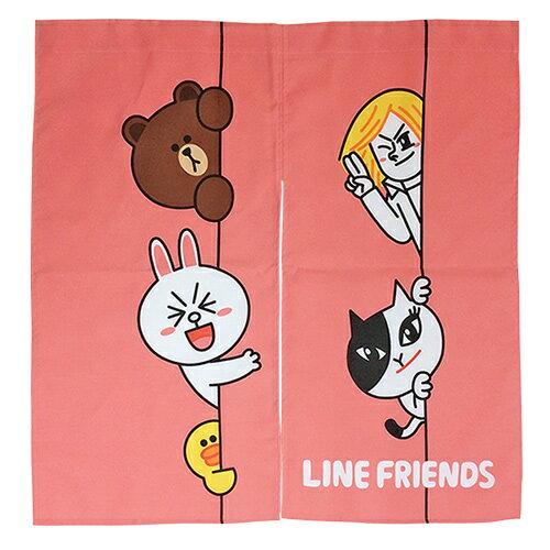 【享夢城堡】門廉-LINE FRIENDS HI~我在這裡